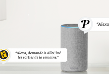 Allociné et Purepeople arrivent sur l'assistant vocal Alexa d'Amazon